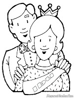 Gambar Mewarnai Untuk Hari Ibu