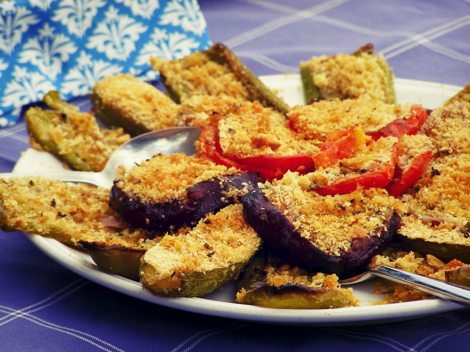 La tavola marche recipe box baked vegetables with bread crumbs baked vegetables with bread crumbs verdure gratinate forumfinder Image collections