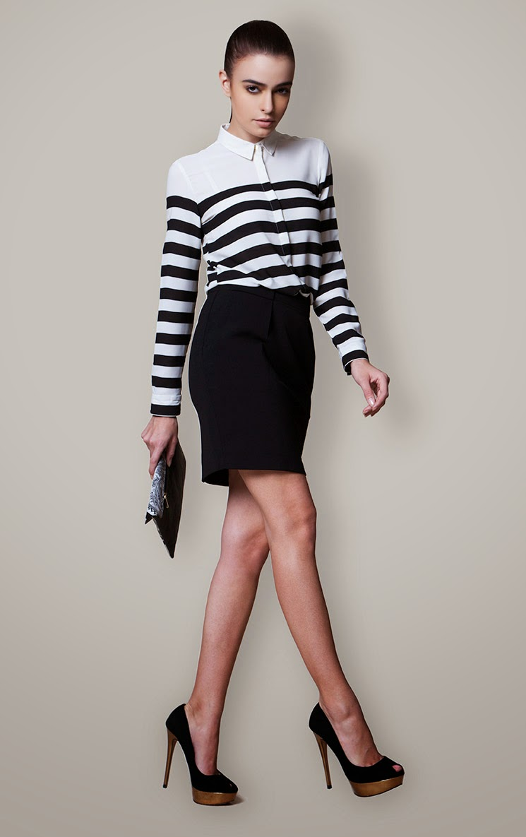 17 Ways to Wear Stripes This Winter (2014-15)