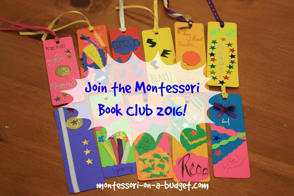 Join my Montessori book club!