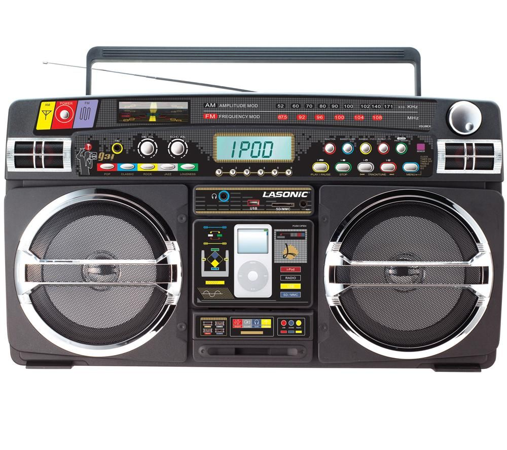 The supreme plate the lasonic i931 boombox a blast from the past - Lasonic ghetto blaster i931x ...