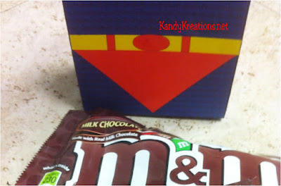 Super Dad box printable with candy treats