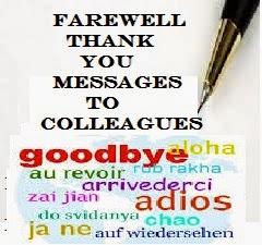farewell invitation for a colleague