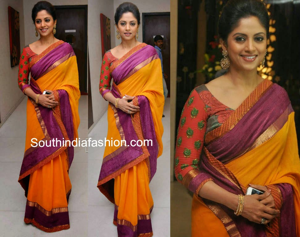 nadhiya at drushyam success meet
