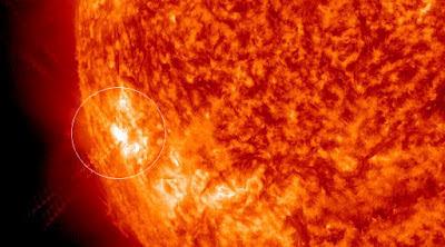 Manchas solares 1504, 12 de Junio 2012