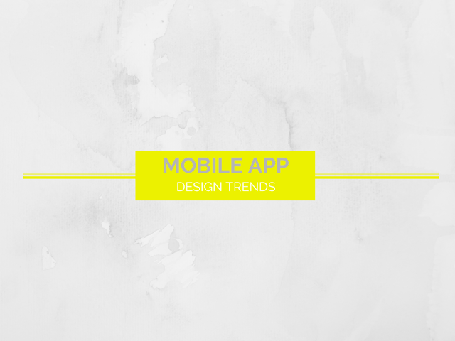 Mobile app design trends to prevail in 2016