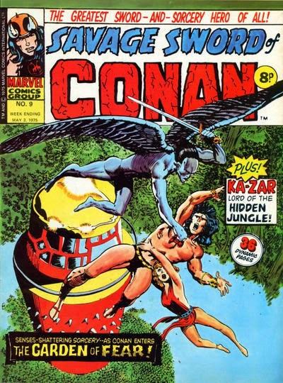 Marvel UK, Savage Sword of Conan #9