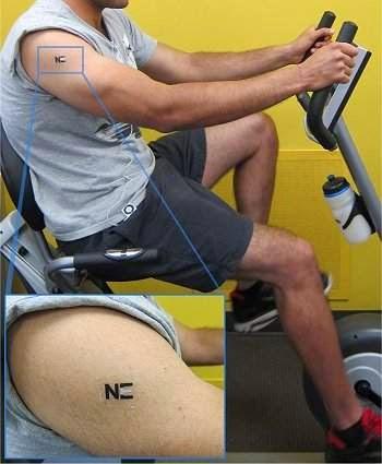 Tatuagem temporário que gera energia a partir do suor