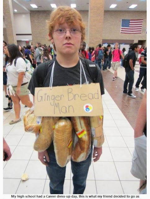 Ginger Halloween Costume