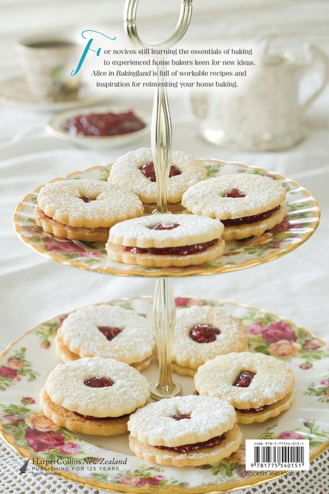 Beattie\'s Cookbook and Food & Wine Blog: Alice in Bakingland