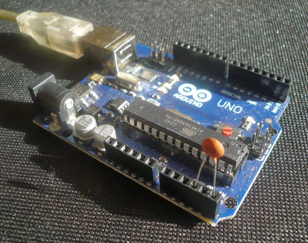 Lectronique en amateur mesurer la capacit d 39 un condensateur avec un ar - Tester condensateur avec ohmmetre ...
