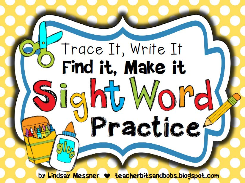 Teacher Bits And Bobs Sight Words EVERYWHERE And A GIVEAWAY