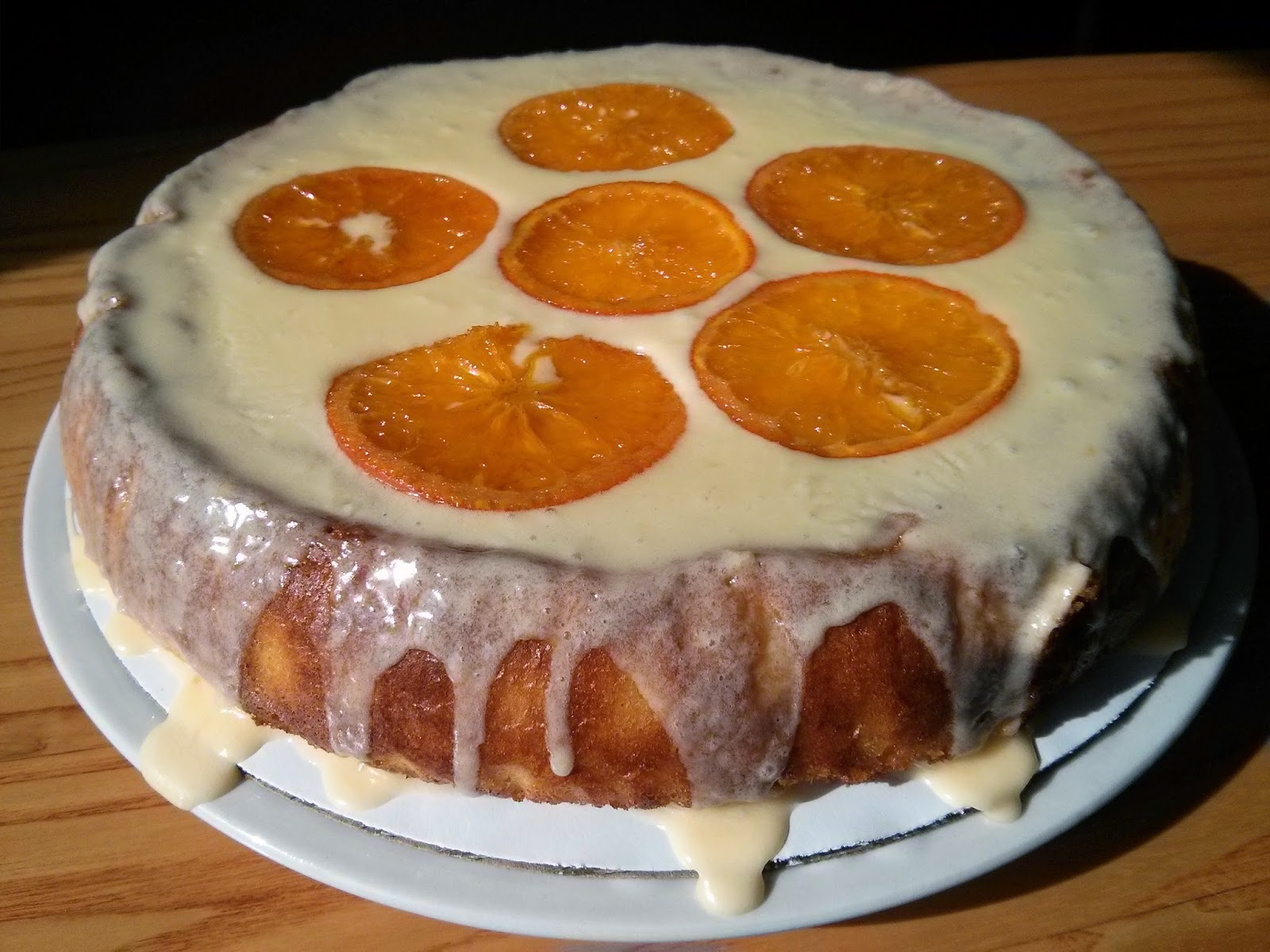 Crazy About Cakes: Walter Mitty Clementine Cake