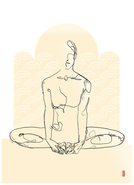 Modern shamanic yogi