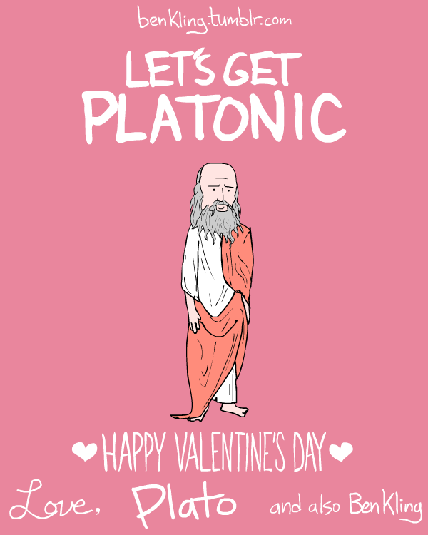 artist ben kling has created this funny and unique series of valentine day cards inspired by historical figures