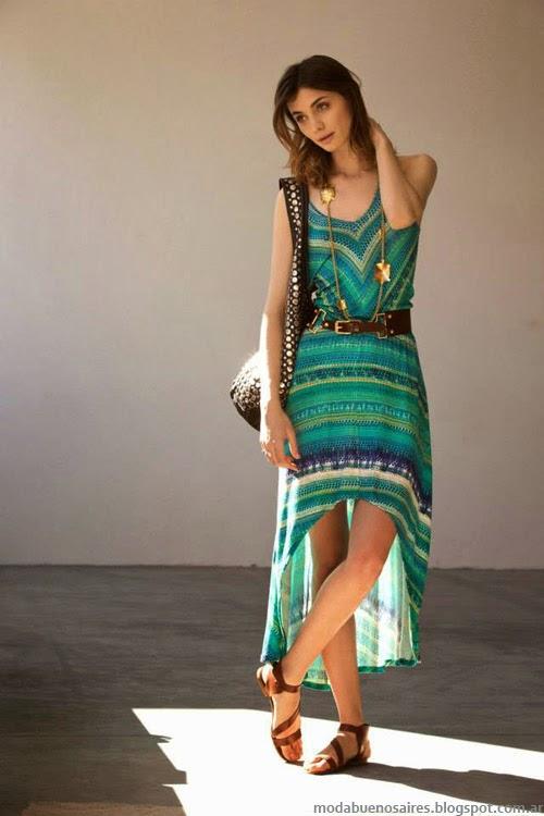 Vestidos primavera verano 2014 marcas argentinas Inédita.