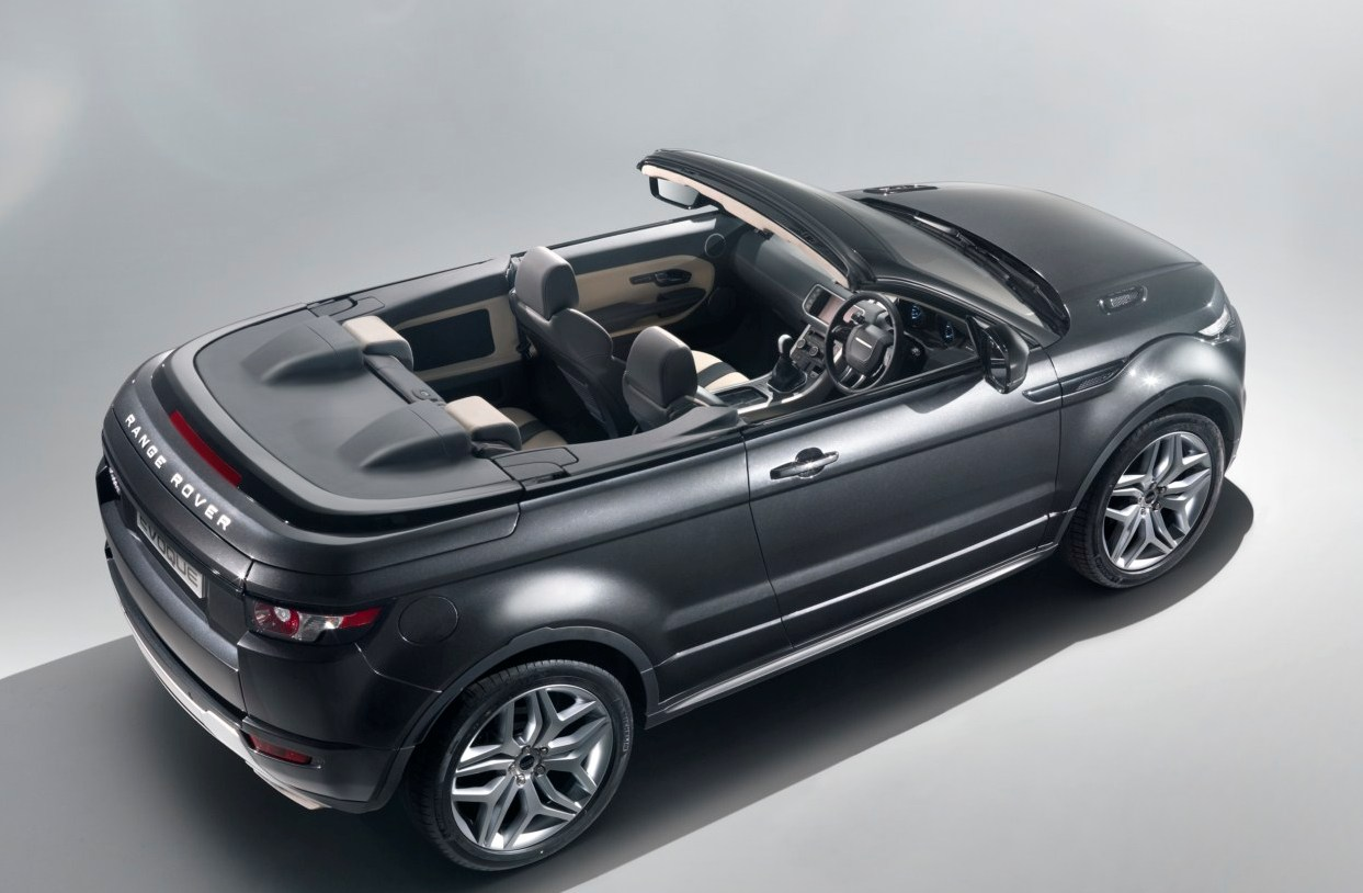 range rover evoque convertible concept 2012 geneva motor show garage car. Black Bedroom Furniture Sets. Home Design Ideas