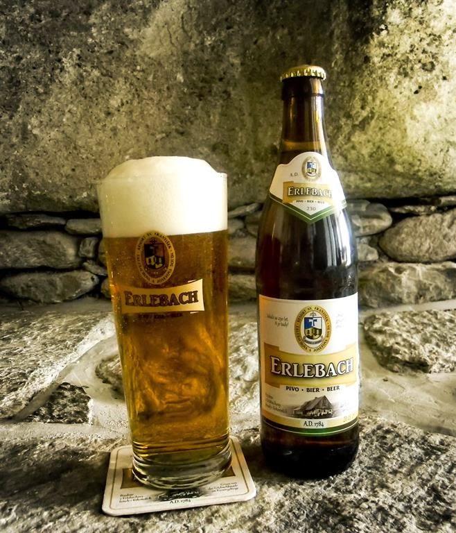 Pivo Erlebach z Erlebachovy boudy