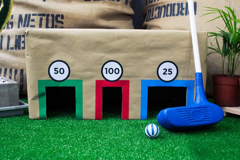 13 juegos hechos con cajas de cart n m s chicos - Juegos divertidos para casa ...