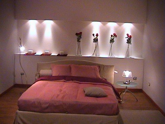 Pareti Dietro Il Letto In Cartongesso: Parete camera da letto in ...