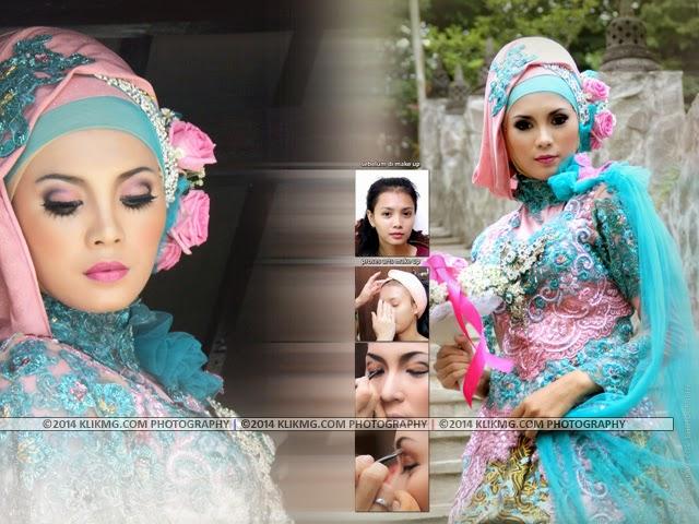 Foto Kolase Model Hijab - Make Up & Busana oleh : Dhita Rias Pengantin - dhitawedding.ga