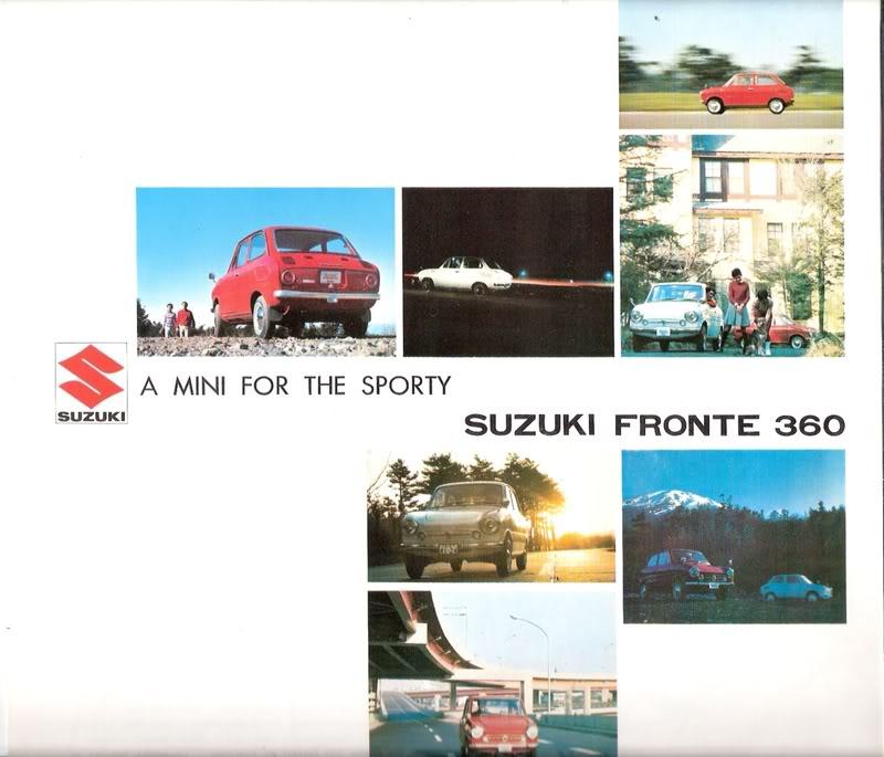suzuki fronte 360, małe auta, klasyczne kei car, japońskie samochody, auta z lat 60, mikro samochody