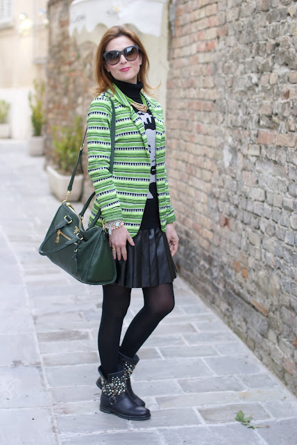 Maison Scotch neon blazer, Fashion and Cookies