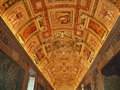 sistine chapel, painted ceiling, the vatican