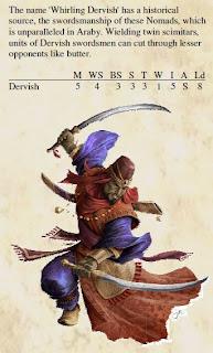 Arabic Warhammer Dervisher