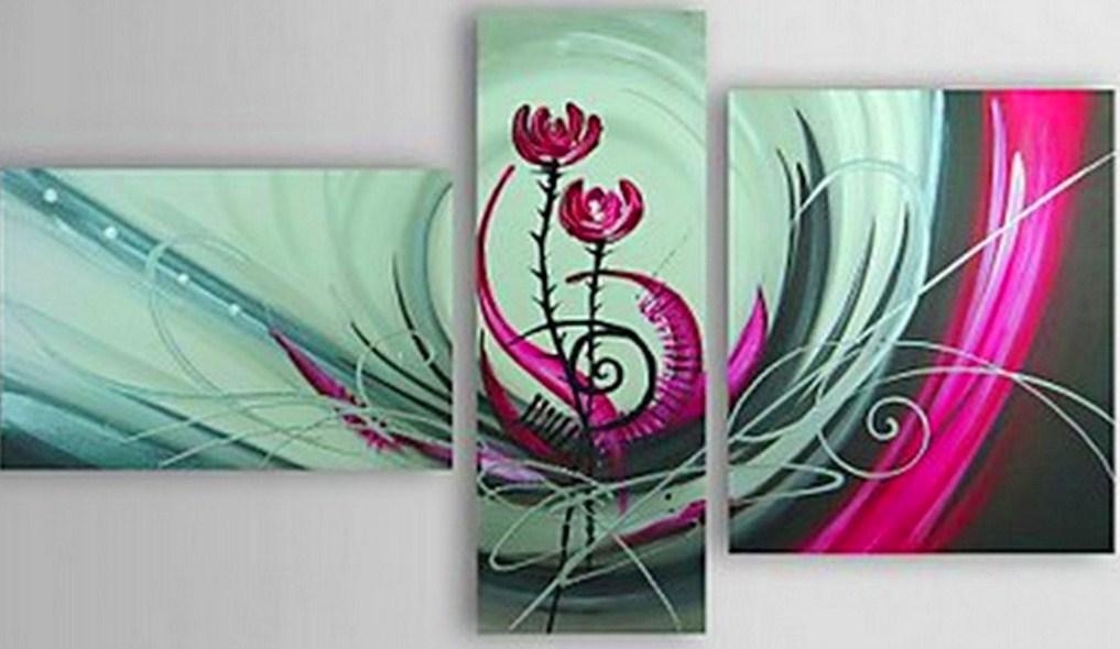 Pinturas cuadros lienzos pinturas abstractas - Pintar con acrilicos paso a paso ...