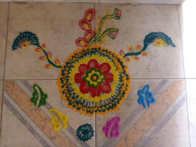 Dhanteras Rangoli Design 20