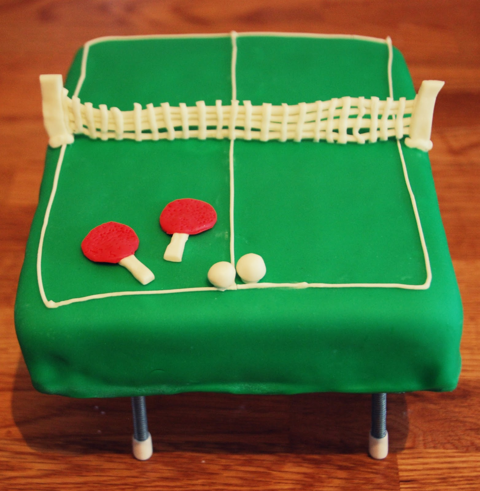 Ping Pong Table Cake
