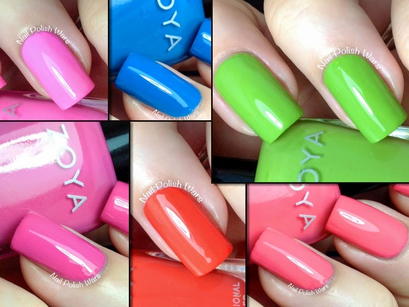 Zoya Tickled