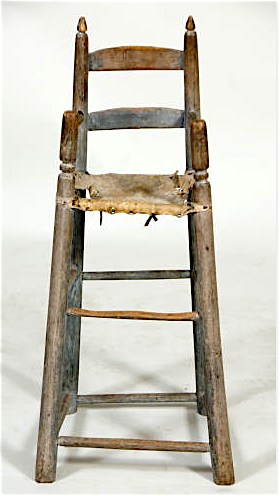 Contemporary Makers C 1770 High Chair By Johannes