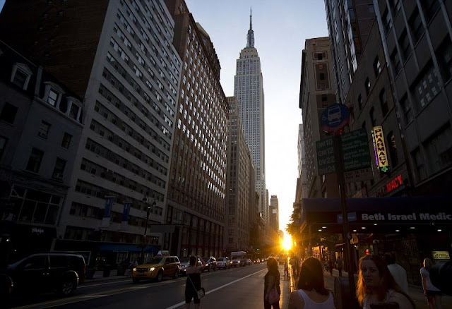 Fenomeno Manhattanhenge