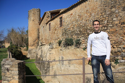 Walls of Peratallada in La Costa Brava