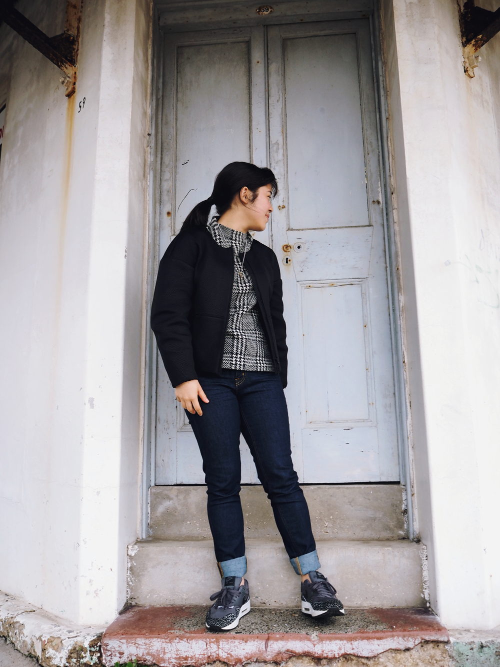 elashock, fashion, personal style, outfit, ootd, style, blog, blogger, japanese, english, australia, sydney, karen okuda, comme ca, comme ca du mode, five foxes, muji, portmans, nike, nike air, sneakers, エラショック, ファッション, ブロガー, ブログ, 私服, コーディネート, コーデ, 洋服, コムサ, コムサデモード, コムサイズム, 無印, 無印良品, ナイキ, オーストラリア, 日本語, 英語