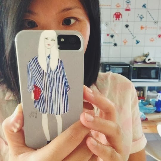 Kitty N. Wong / Fashion Illustration iPhone case
