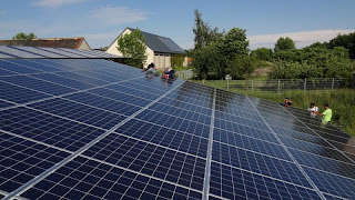 Solar Farm on Household Roof