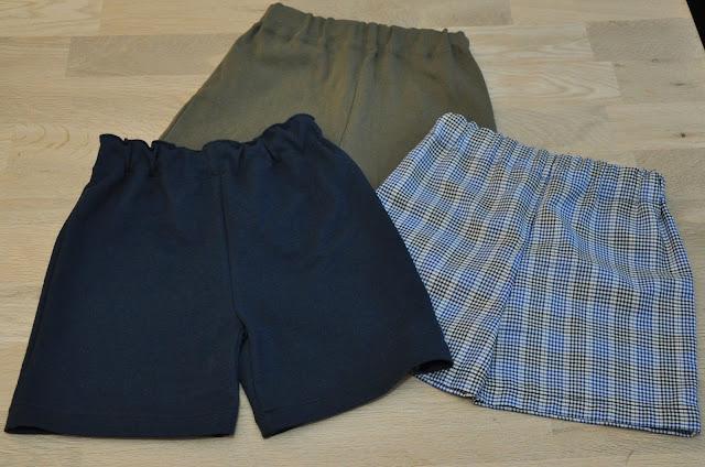 hjemmesyet shorts