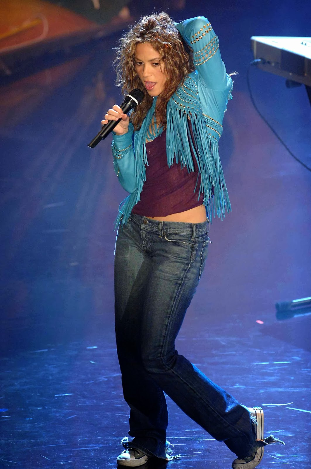 Live On Stage Shakira San Remo Music Festival 2006 03 02