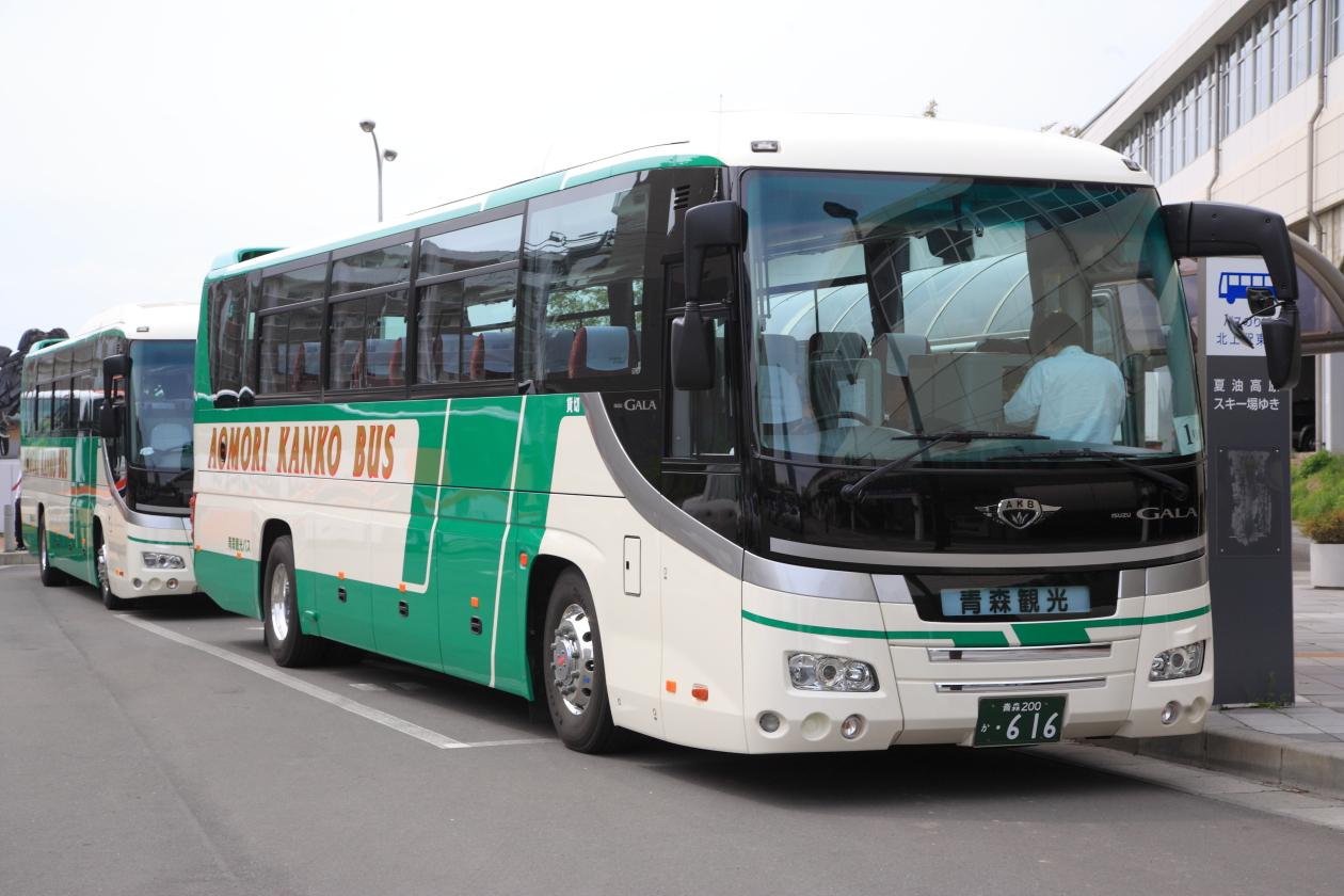 青森観光バス いすゞGALA HD | O...