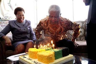 nelson mandela birthday 2012