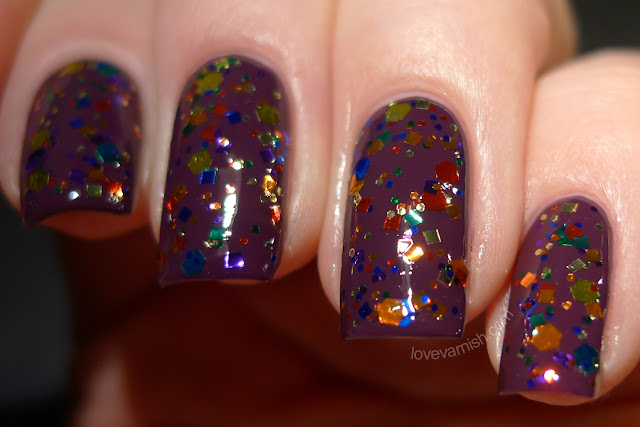 Cirque Colors Let's Dance Live It Up collection swatch review