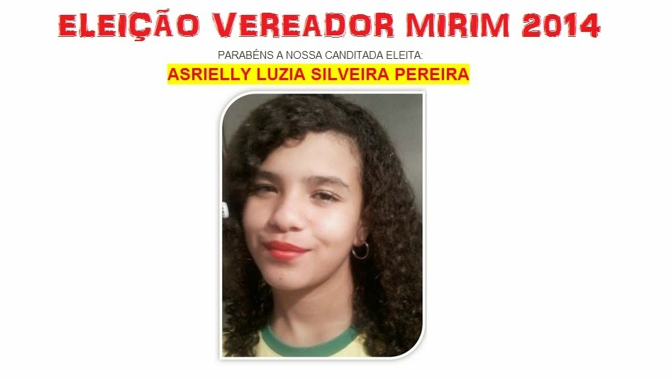 Vereador Mirim - Gertrudes Benta Costa