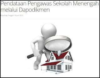 Download Panduan/Cara Login Pendataan Pengawas SMA/SMK Dapodikmen