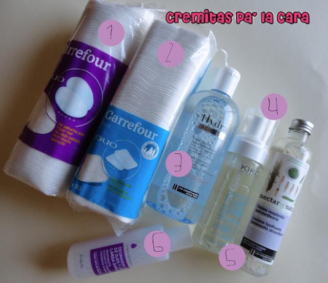 Cremitas pa 39 la cara mi rutina de limpieza facial low cost for Productos limpieza coche mercadona