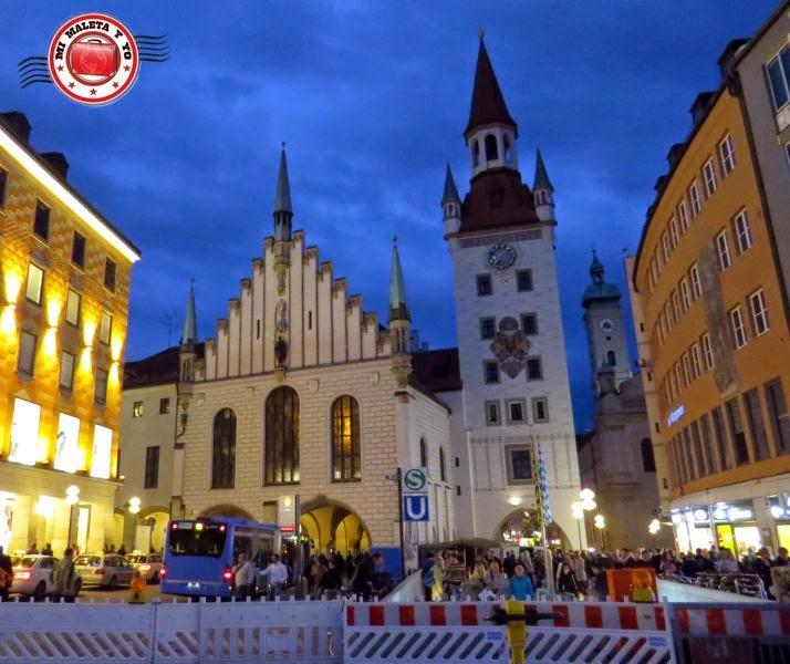 Munich - Antiguo ayuntamiento