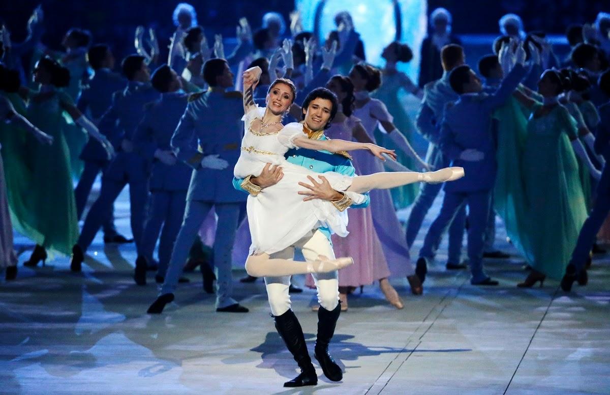 Sochi olympics,olympics ballet,the swan lake