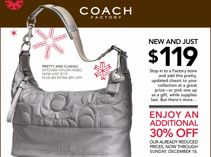 Coach outlet coupons printable december